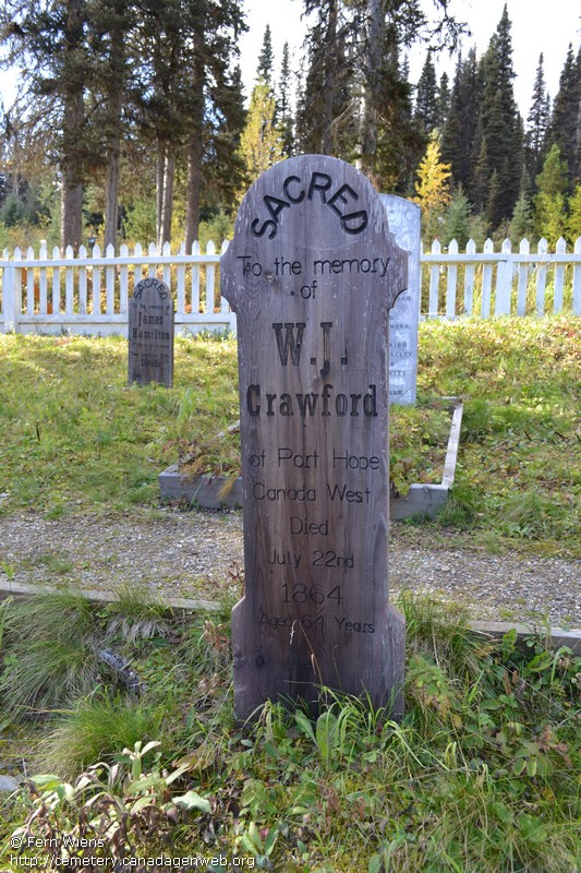 Barkerville / Cameronton Cemetery