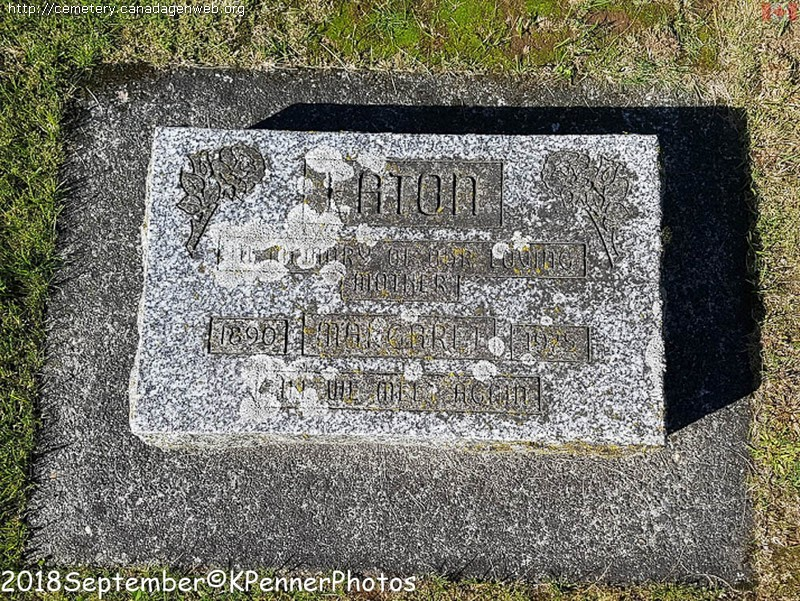 Chilliwack Cemeteries Inc / Little Mountain / Anglican / IOOF Cemetery