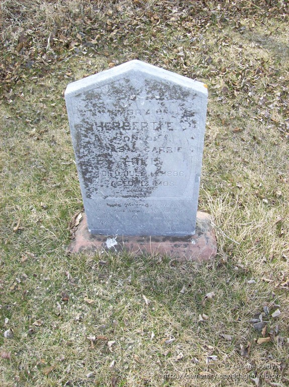 Colby Tupper Cemetery