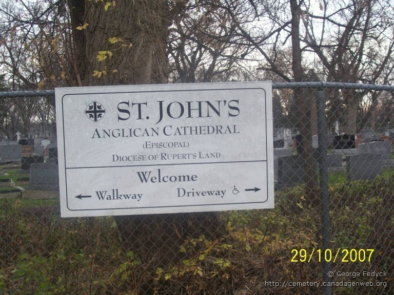 St John's Cathedral Anglican Cemetery