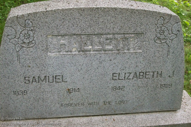 Hallett Loyalist Cemetery