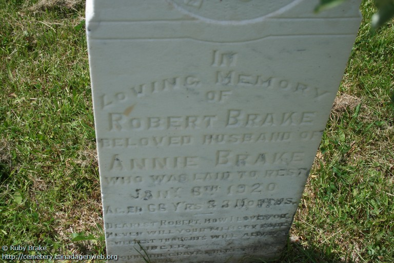 Trout River Old Anglican Cemetery