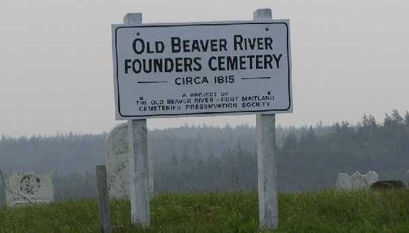 Old Beaver River Founders Cemetery