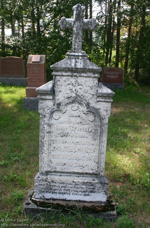 First St Peter's Lutheran Cemetery