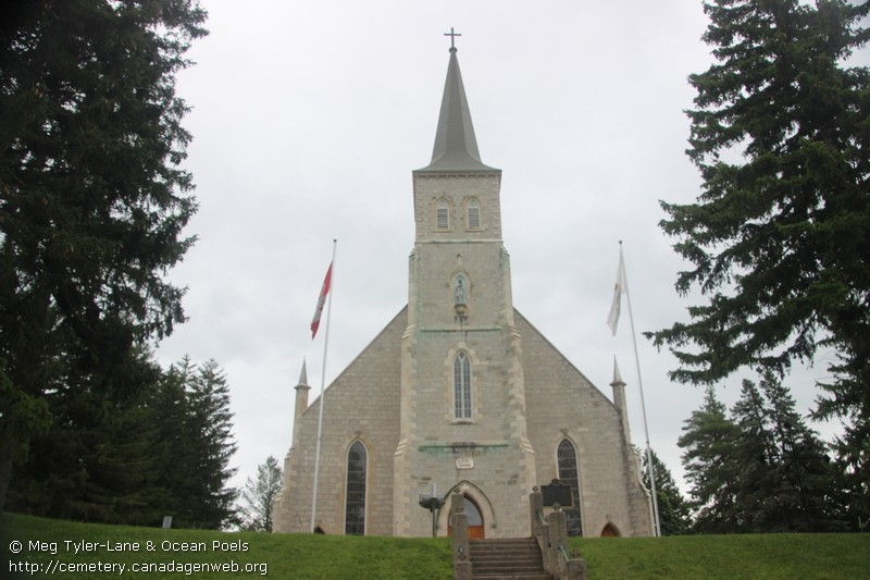 on: immaculate conception roman catholic cemetery, canadagenweb's