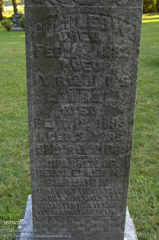 Tyrconnell United Church Cemetery