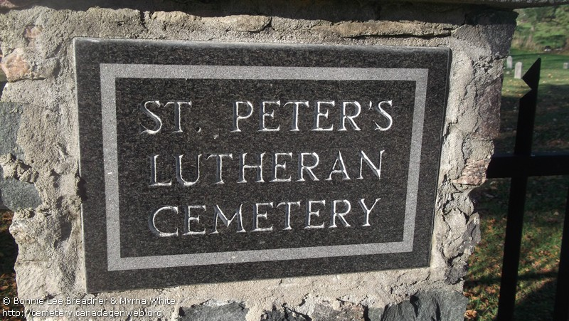 St Peter's Lutheran Cemetery