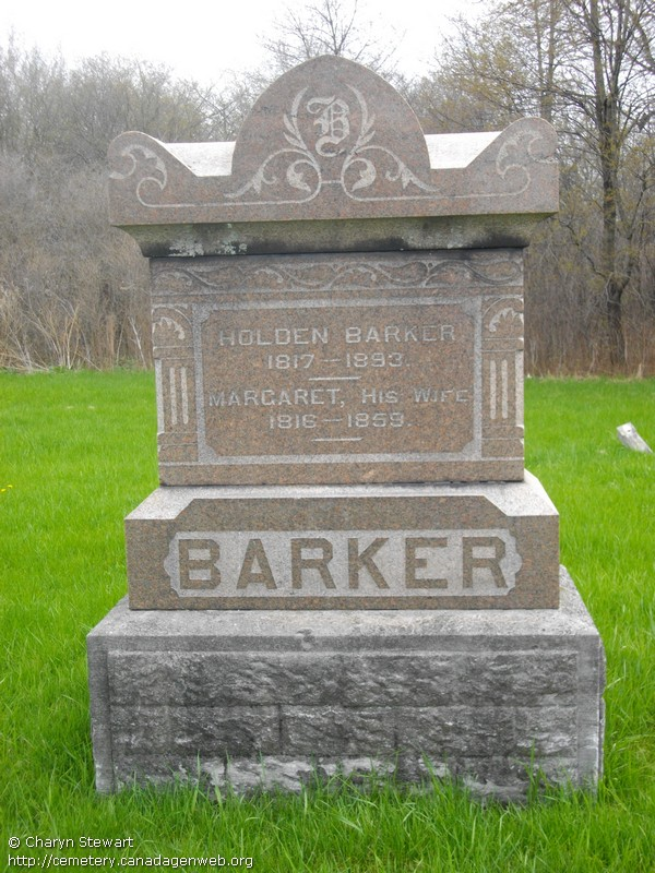 Ballsville / All Saints Anglican / McCloy's Cemetery