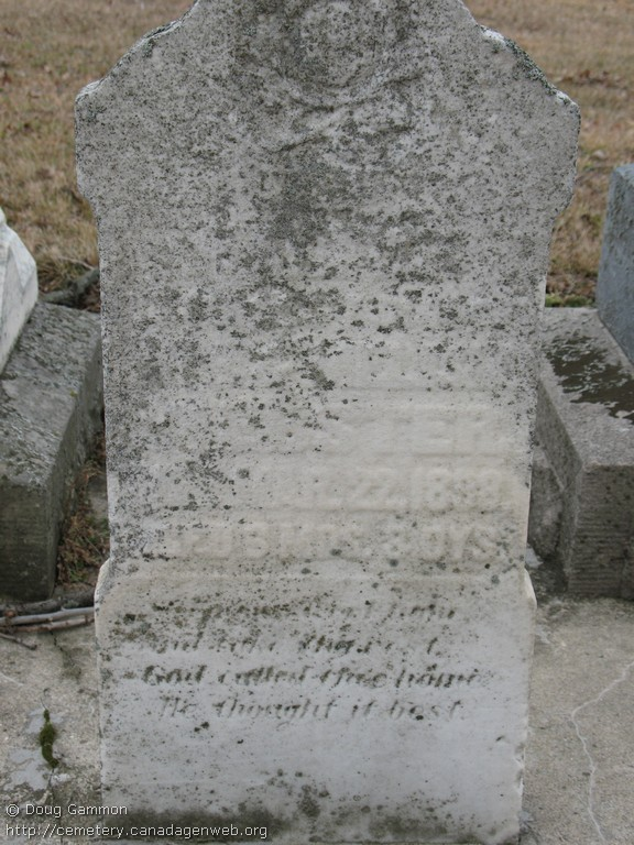 Gould / Sturdy Cemetery