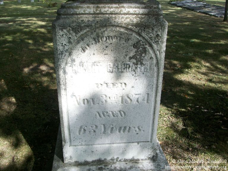 Mount Zion / 4th Line / Old Methodist Cemetery