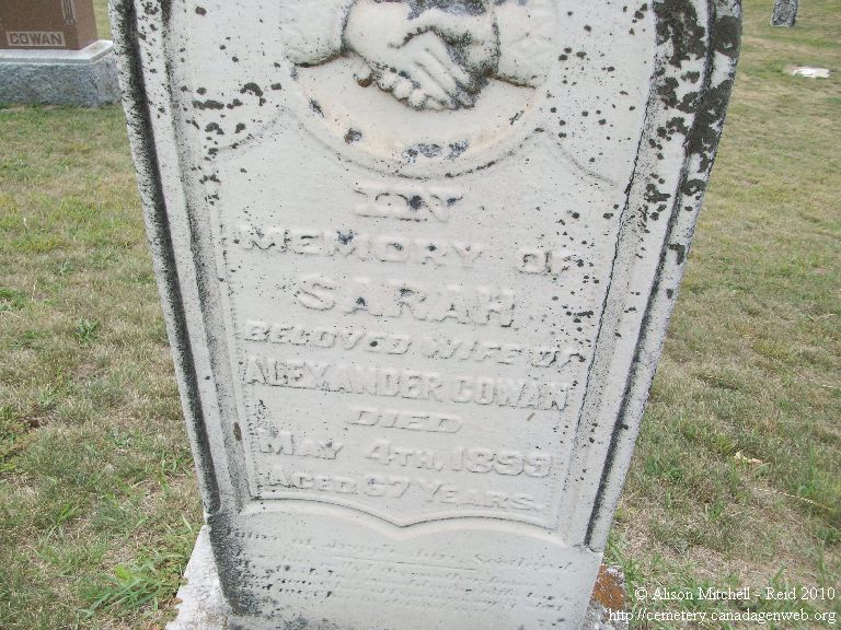 Hess / North Caradoc Methodist / Ogg Cemetery