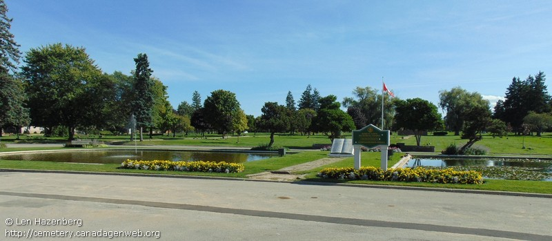 ON: Forest Lawn Memorial Gardens, CanadaGenWeb\'s Cemetery Project
