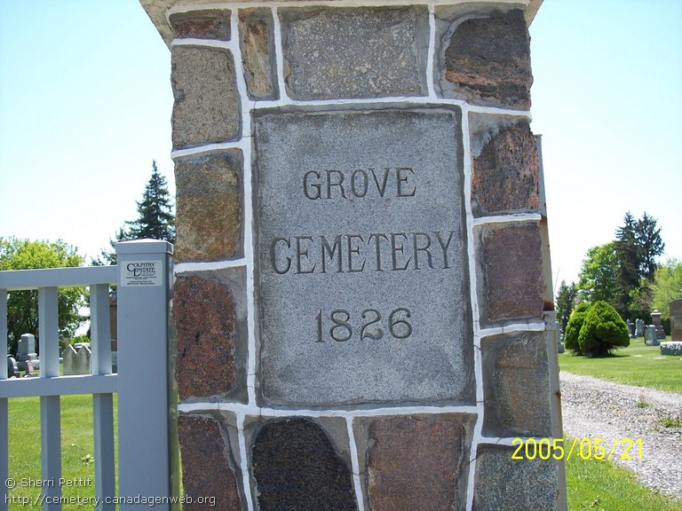 The Grove / Webster Cemetery