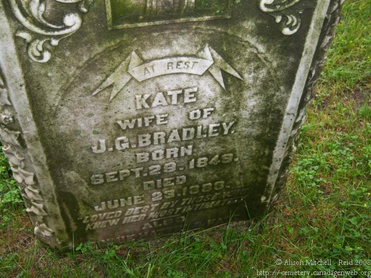 Oakland / Proudfoot Cemetery