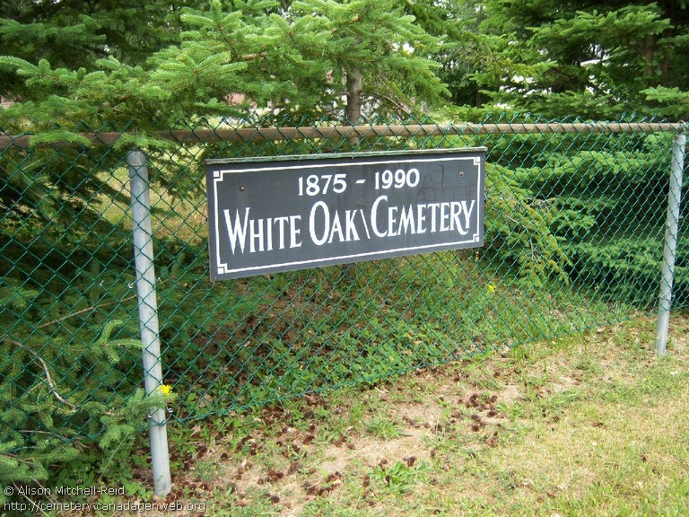 White Oak United Church Cemetery