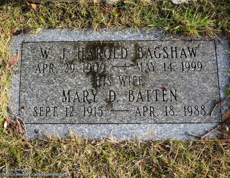 Bagshaw Cemetery