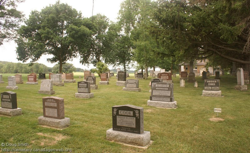 Amulree Reformed Mennonite Church / North Easthope Reformed Mennonite Cemetery