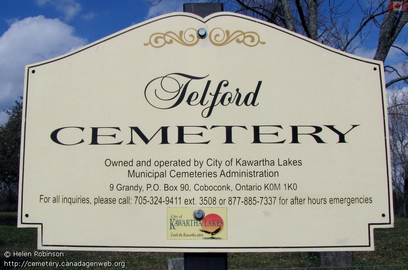Abandoned / Telford's Cemetery