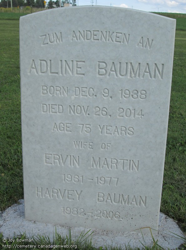 Martin's Independent Old Order Mennonite Cemetery