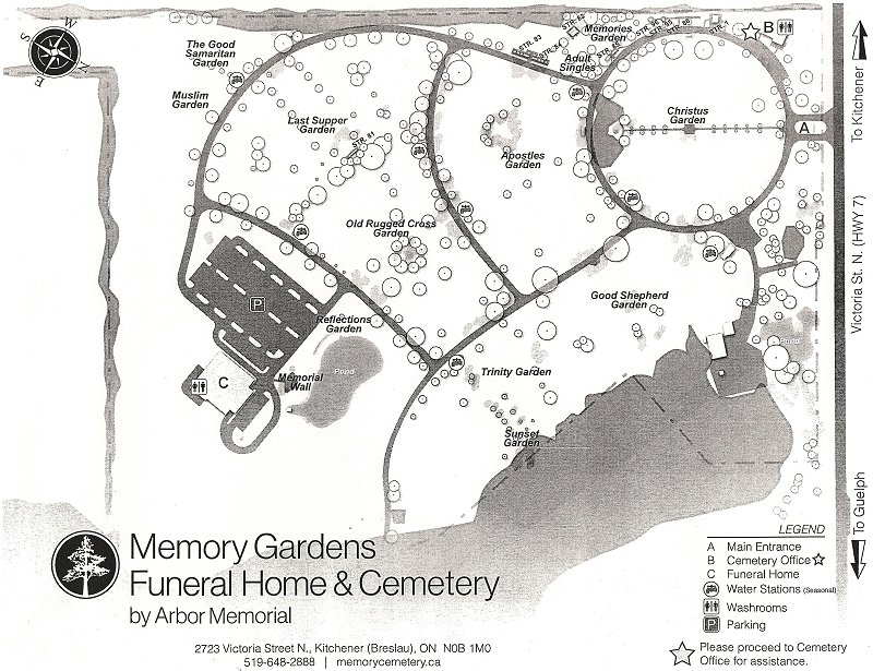 On Memory Gardens Canadagenwebs Cemetery Project