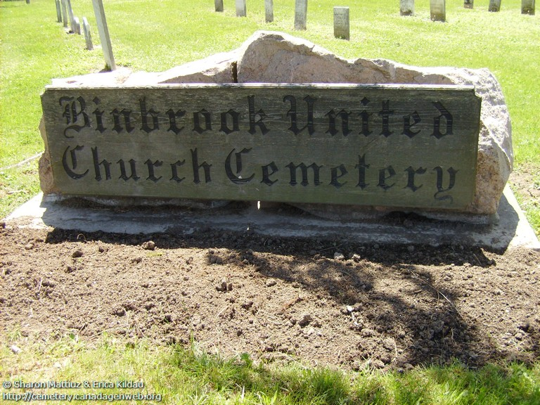 Binbrook United Church Cemetery