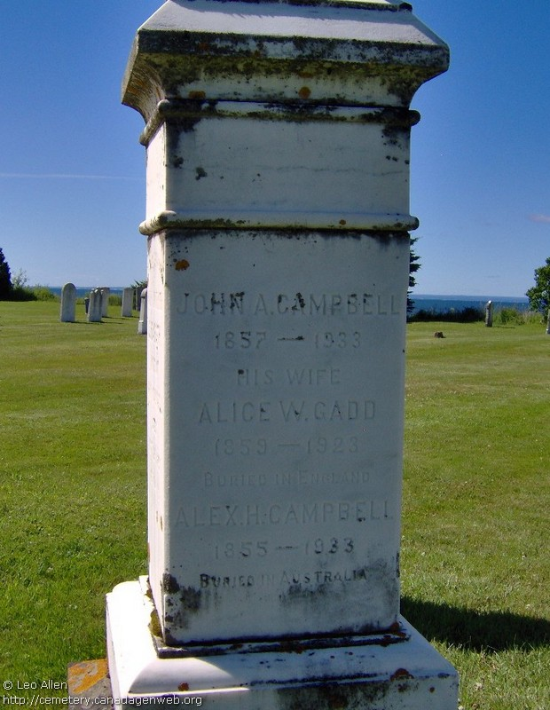 St Andrew's United Church Cemetery