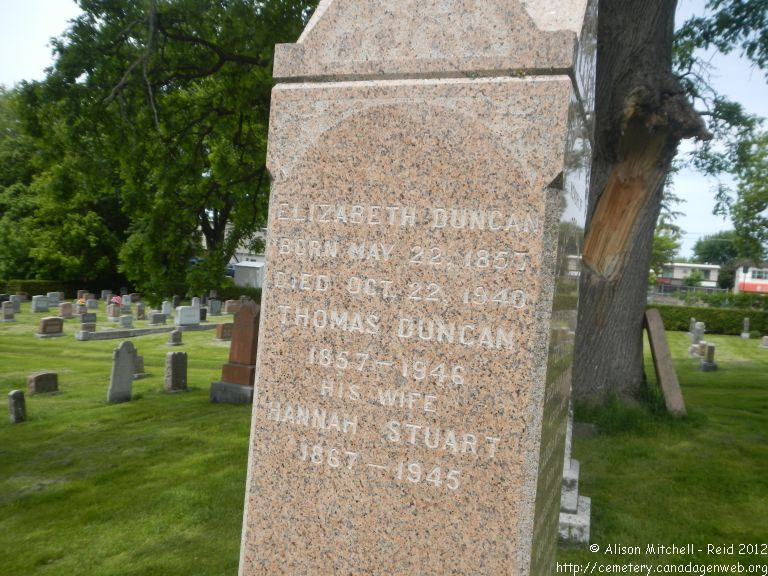 Chateauguay Protestant Cemetery