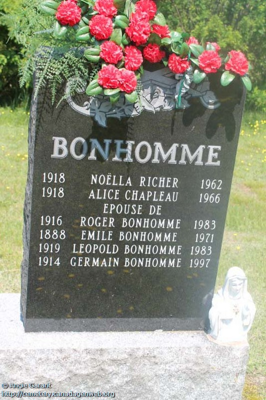 Lac Nominingue Cemetery