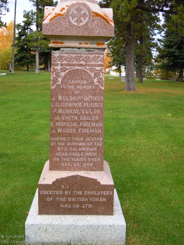 Whitehorse Pioneer / 6th Ave Cemetery